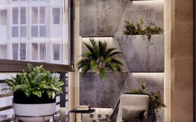 Дизайн балкона, как полноценного жилого пространства.