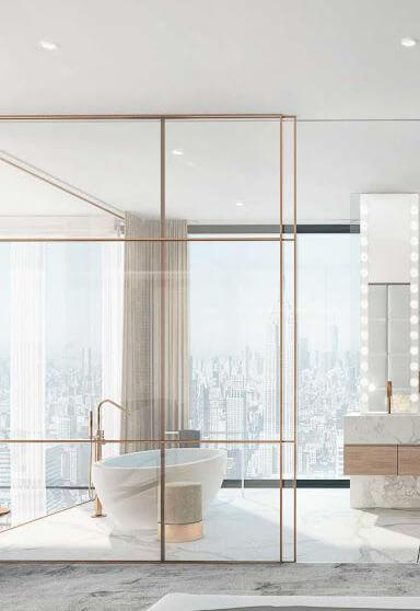 Тренды в дизайне ванных комнат